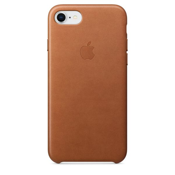 iPhone 8 / 7 Leather Case - Saddle Brown