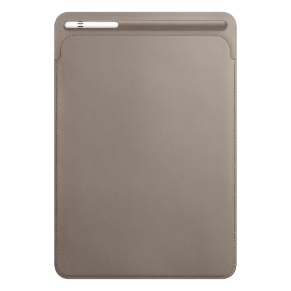 Leather Sleeve for 10.5-inch iPad Pro - Taupe