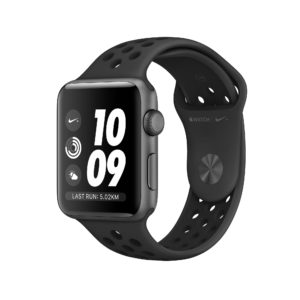 Apple Watch Nike+ Series 3 Space Grey Aluminium Case with Anthracite/Black Nike Sport Band