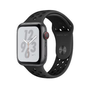 Apple Watch Nike+ Series 4 Space Grey Aluminium Case with Anthracite/Black Nike Sport Band
