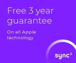Free 3 year guarantee