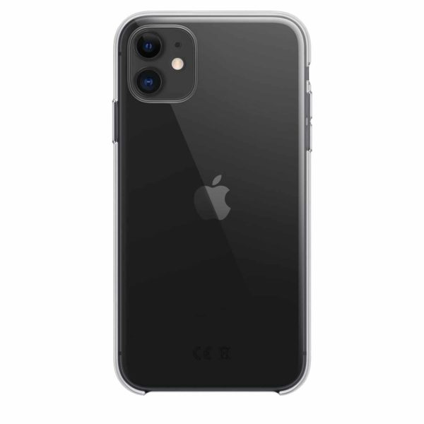 iPhone 11 clear case - black