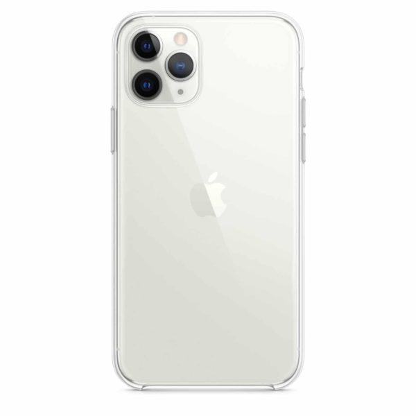 iPhone 11 Pro clear case - silver