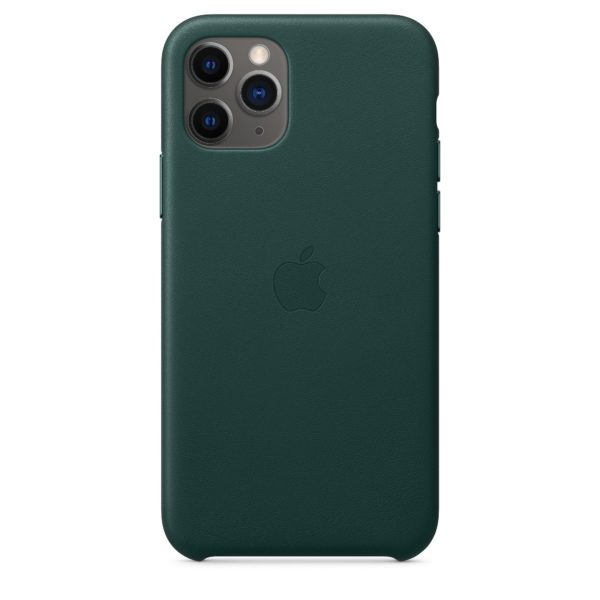 iPhone 11 Pro Leather Case - Forest Green
