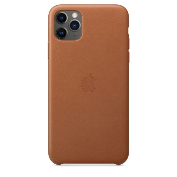 iPhone 11 Pro Max Leather Case - Saddle Brown