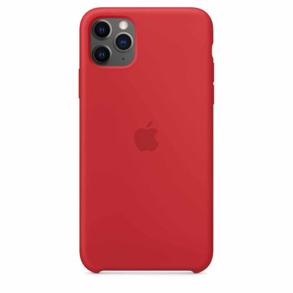 iPhone 11 Pro Max Silicone Case - Product Red