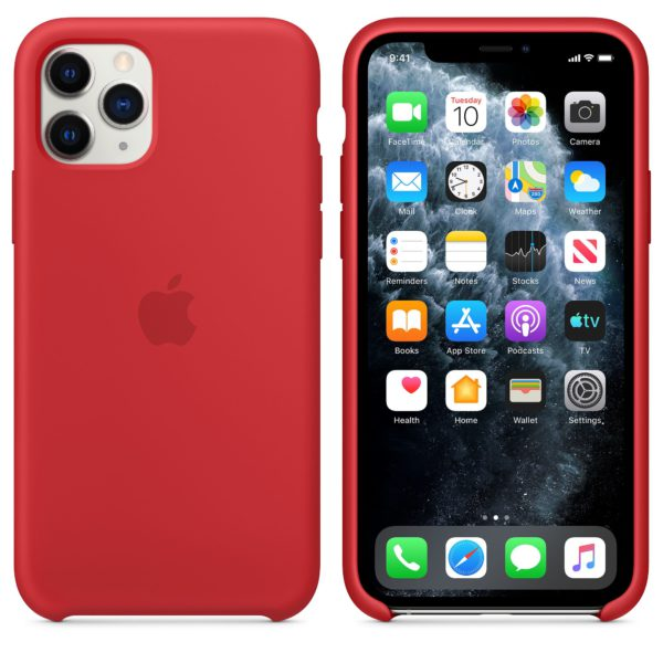 iPhone 11 Pro Silicone Case - Product Red