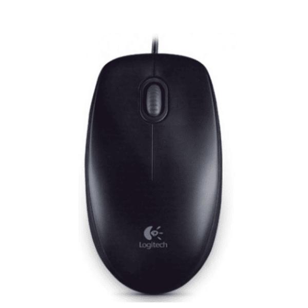 Logitech Mouse B100 Black