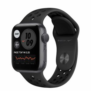 Apple Watch Nike Series 6 Space Gray Aluminium Case with Anthracite/Black Nike Sport Band