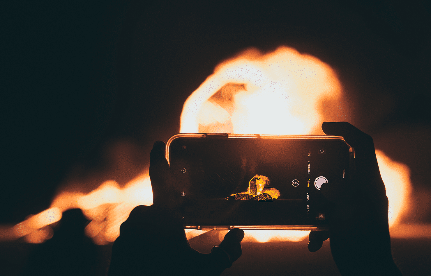 Bonfire, iPhone, Sync