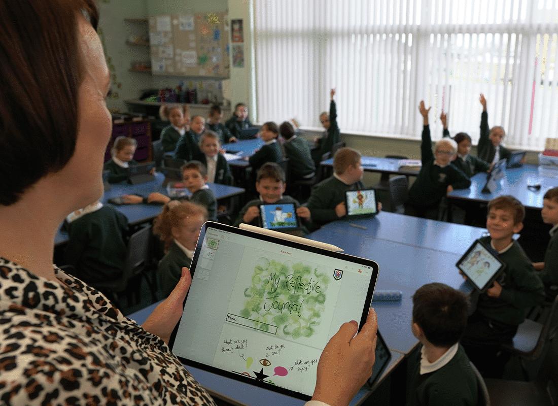 iPad in Education raising engagement with iPad